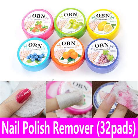 Bioaqua Strawberry Towel Nail Towel Blueberry 32pads nail remover jar fruit scented flavor wraps paper cloth towel wipes nail