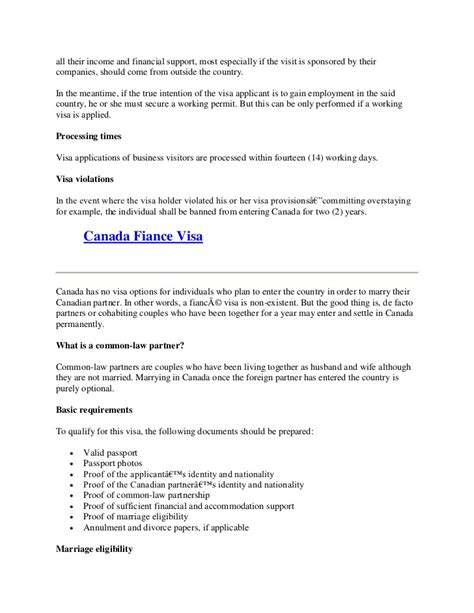 Financial Support Letter For Visa Canada Everything You Need To About Canada Visa