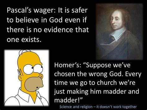 Pascal S Wager Vs S Wager Answers In Reason