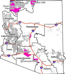 map of blm land in arizona map 1