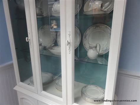 painted china cabinet before and after juliet china cabinet before after finding silver pennies