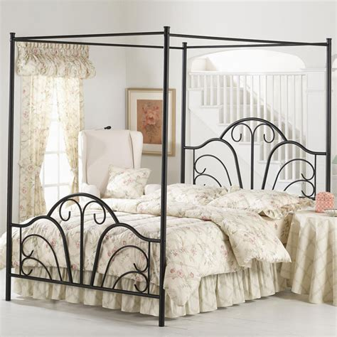 Black King Size Headboard And Footboard by Black Canopy Metal Bed Frame King Sizes