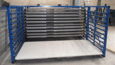 Metal Storage Rack Metal Sheet Rack Horizontal Eurostorage Storage Sheets