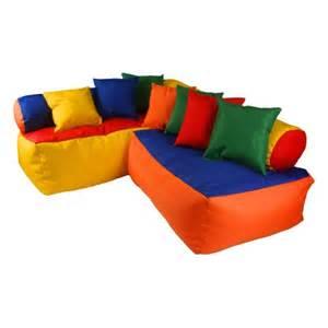 bean bag sofa set bed room furniture play room corner
