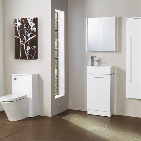 Compact Bathroom Furniture Compact Range From Plumb Small Bathroom Design Ideas Housetohome Co Uk