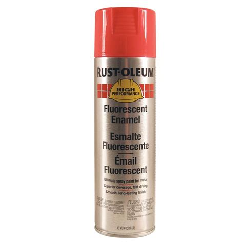 shop rust oleum 14 oz fluorescent pink gloss spray paint at lowes