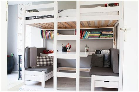 Bunk Bed With Space Underneath 10 Built In Bunk Bed Rooms With Clever Use Of Space