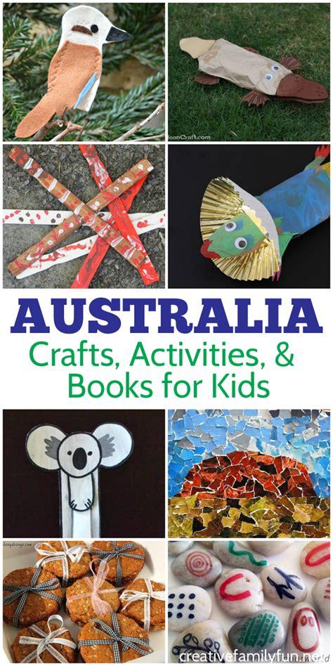 australian activities australia activities for crafts books and
