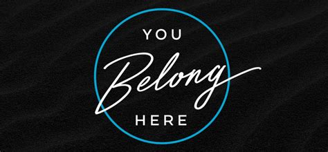 libro you belong here bridgeway church of the nazarene