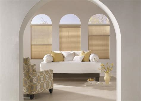 Bow Windows Curtains arched window treatments amp coverings budget blinds