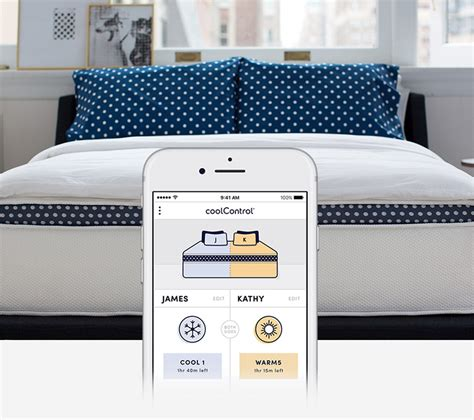 temperature controlled bed winkbeds coolcontrol lets you control the temperature of