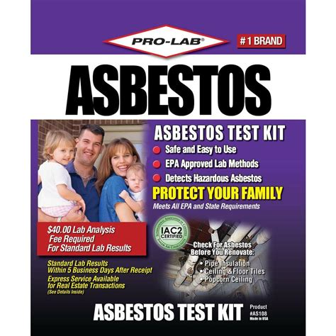 pro lab asbestos test kit shop your way shopping