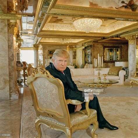 Trump Gold Apartment | real estate developer donald trump is photographed for