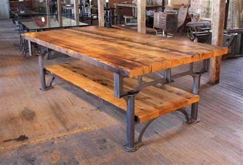 vintage kitchen island table industrial reclaimed wood harvest kitchen island great