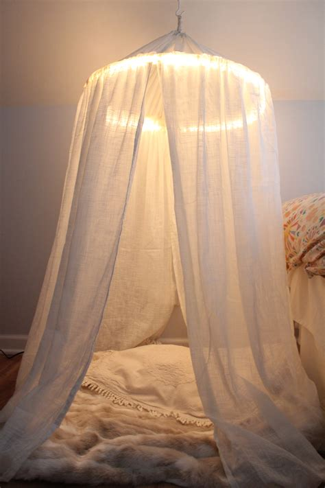 how to make a canopy bed without posts wonderful how to make a canopy with hula hoop images