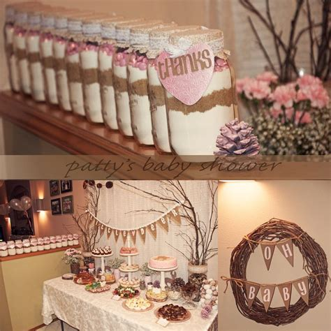 Rustic Baby Shower Theme by Baby Shower Food Ideas Country Themed Baby Shower Ideas