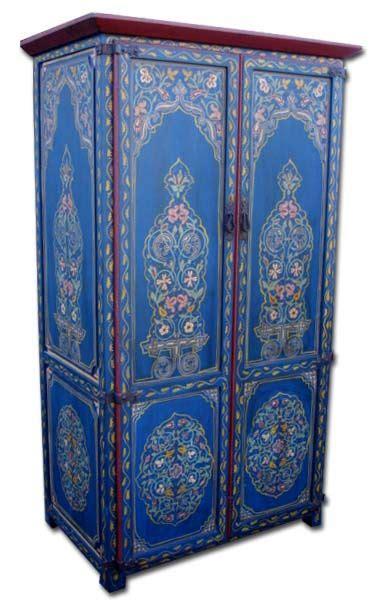 Armoire Style Marocain by Medina Armoire Meubles Peints Ii Armoire