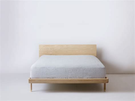 simple bed simple bed modern platform bed with brass feet kalon