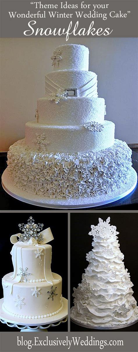 five theme ideas for your wonderful winter wedding cake wedding theme ideas and cases