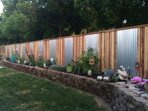 fence ideas for backyard diy backyard fancy fence ideas the garden glove