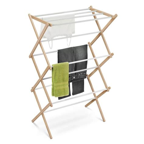 Wood Clothes Drying Rack by Honey Can Do Wood Accordion Drying Rack 01111 The