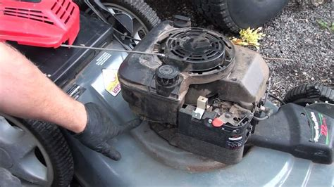 Briggs And Stratton Lawn Mower Model 90000 - easy how to fix a briggs and stratton lawnmower starter