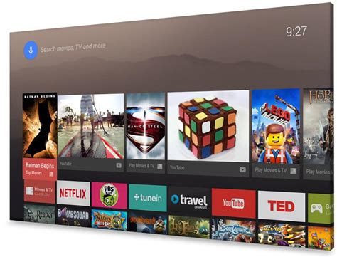 tv with android os android tv review just what your tv doesn t need