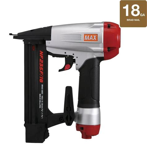 max 18 brad nailer to 1 3 8 in nf235f 18 the home