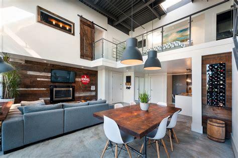 loft apartment  vancouver  mix  modern  vintage