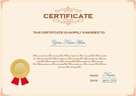 creating certificate templates make a certificate template 28 images certificate of