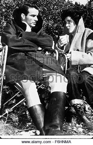 A Place Director Montgomery Clift And Elizabeth A Place In The Sun Directed Stock Photo Royalty Free