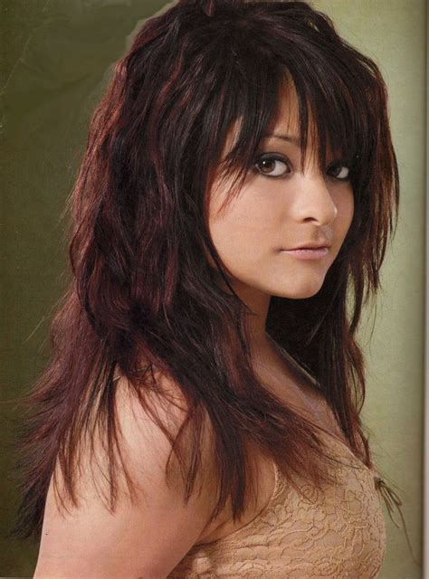 edgy sophisticated hairstyles from sophisticates hairstyle magazine long jagged edgy