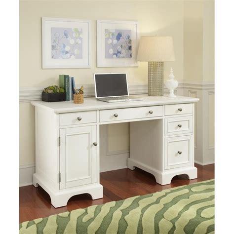pedestal desk white finish 5530 18