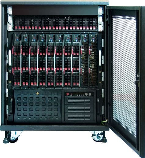 Small Data Rack a data center in a single small portable see to