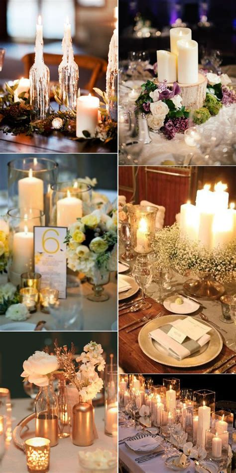 wedding centerpieces with candles uk 2 36 stunning wedding ideas with candles 6 my wedding