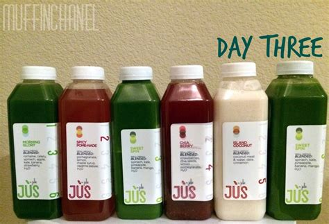 Jus Detox Review jus by julie 3 day cleanse review muffinchanel