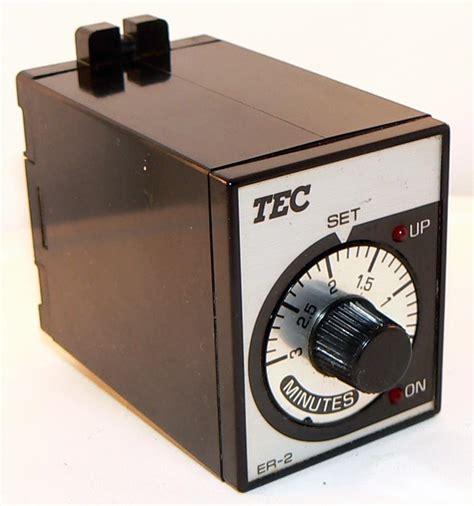 Saklar Timer Listrik jual tec er 2 timer relay dan kontaktor listrik harga