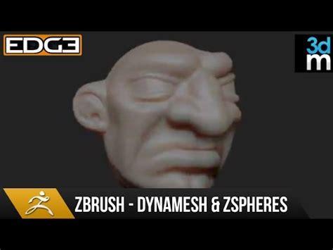 zbrush tutorial español youtube zbrush tutorial dynamesh zspheres sculpting by