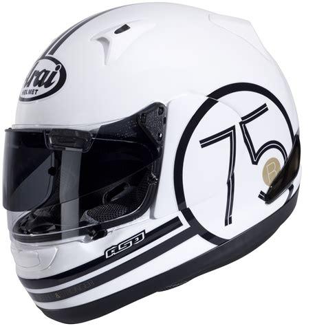 helmet design white arai quantum st pro ceoncept motorbike helmet