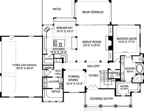 4 bedroom cape cod house plans home plans homepw10076 3 592 square feet 4 bedroom 4 bathroom cape cod home with 3 garage bays