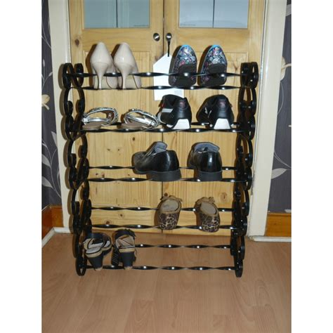 Handmade Shoe Rack - shoe rack wrought iron