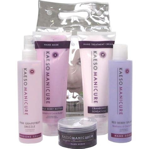 Manicure Products by Kaeso Manicure Kit Set Spray Soak Lotion
