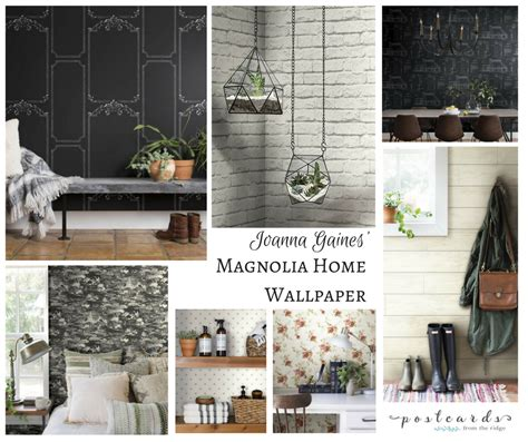 magnolia homes wallpaper postcards from the ridge
