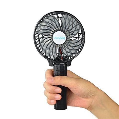 battery fans for home baaaq handheld mini battery fan foldable fans for home and