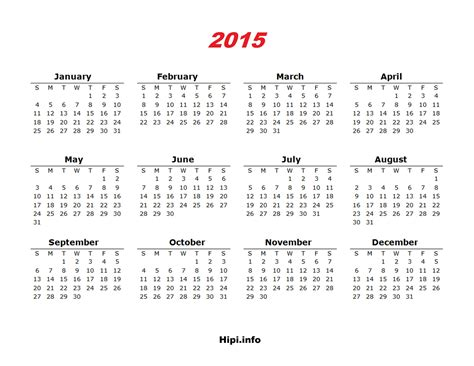 printable calendar 2015 landscape twitter headers facebook covers wallpapers calendars