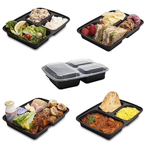 pasta bowls box set meal prep food storage restaurant containers 7 pack