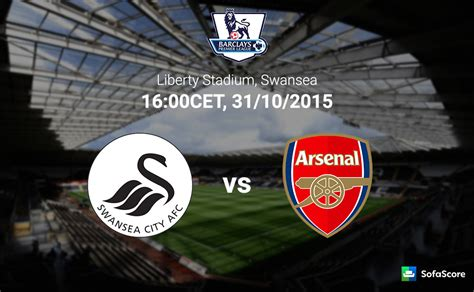 arsenal vs swansea swansea vs arsenal match preview tv live stream