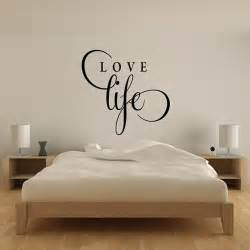 love wall stickers love life wall sticker text wall art