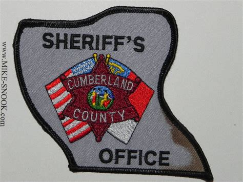 Cumberland County Sheriff Office by Mike Snook S Patch Collection State Of Carolina