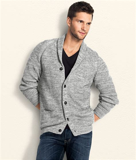 Cardigan H M H M Cardigan In Gray For Grey Lyst
